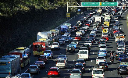 California dreaming freeways clogged