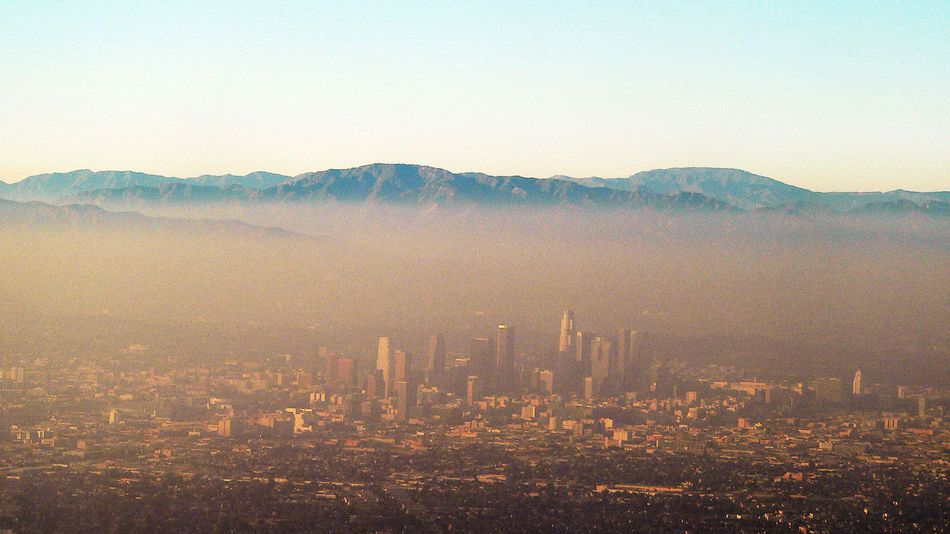 California dreaming smog image