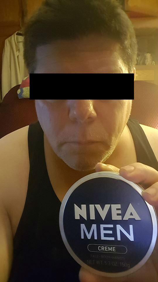 man card wayne with nivea