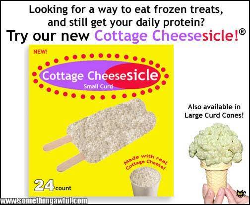 Cottage Cheesesicles