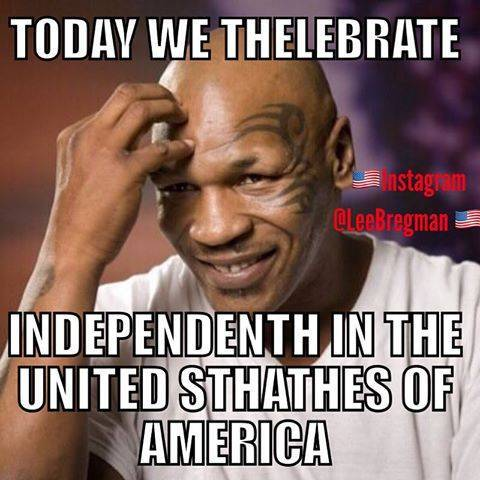 Mike Tyson 4th of July