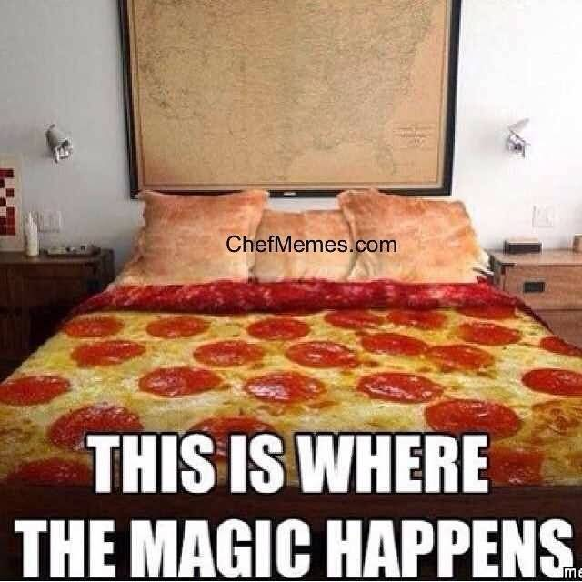 Pizza Bed