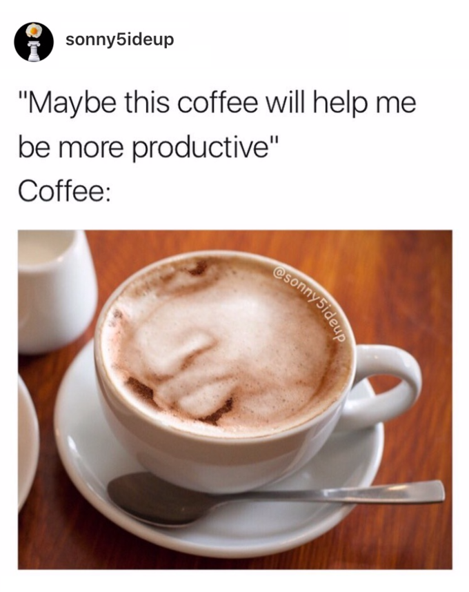 Coffee Doubts It