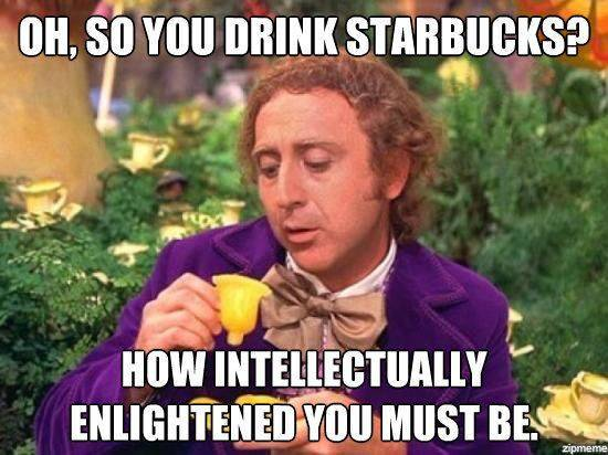 All Smart People Drink Real Coffee