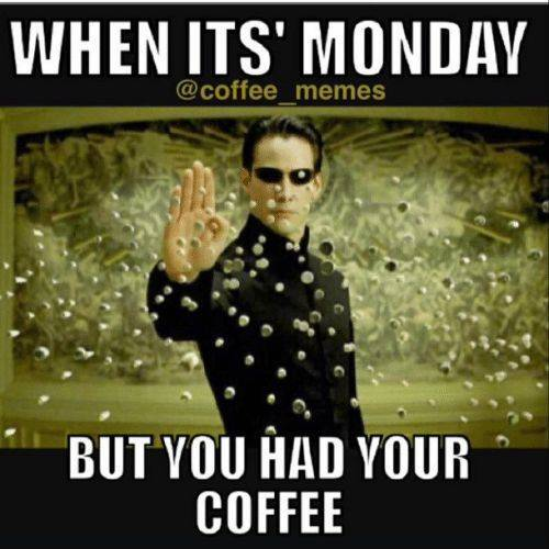 Matrix Monday Coffee